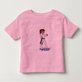 Martial Arts - Ponytail (Dark) Toddler T-shirt