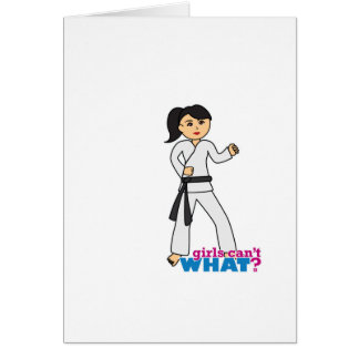 Martial Arts - Ponytail (Medium) Card