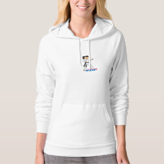 Martial Arts - Ponytail (Medium) Hoodie