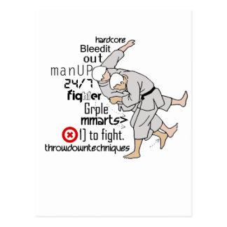 Martial ARts Post Cards