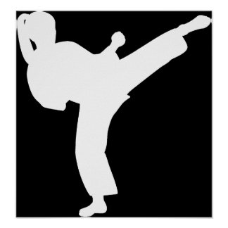 Martial Arts Poster