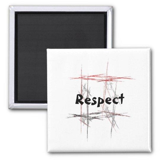 Martial Arts Respect Magnet