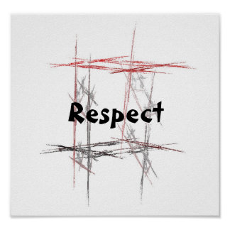 Martial Arts Respect Posters