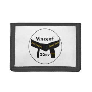 Martial Arts Second Degree Black Belt Wallet