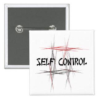 Martial Arts Self Control Button