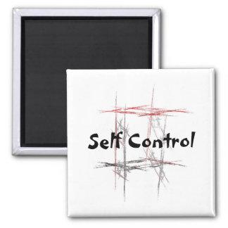 Martial Arts Self Control Magnet