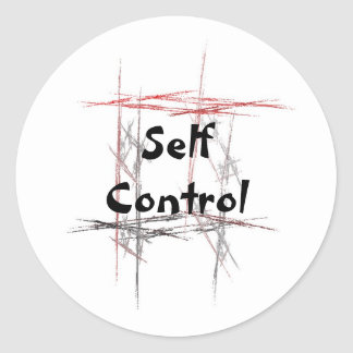 Martial Arts Self Control Stickers