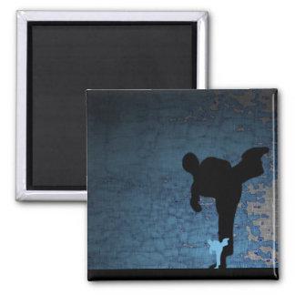 martial arts : shadowstance fridge magnet