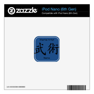 Martial Arts Decal For iPod Nano 6G