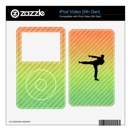 Martial Arts Skins For The iPod Video