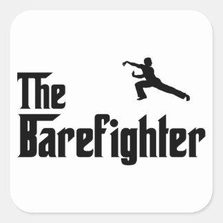 Martial Arts Square Sticker