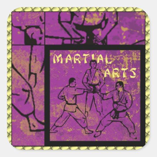 MARTIAL ARTS Stickers
