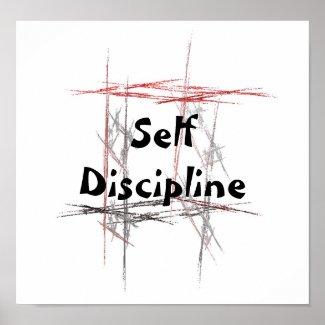 Martial Arts Taekwondo Tenets Self Discipline Poster