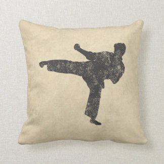 Martial Arts Throw Pillow