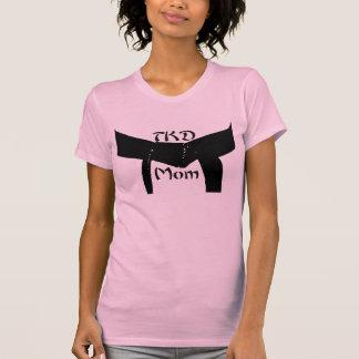 Martial Arts TKD Black Belt Mom T-Shirt