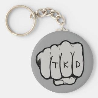 Martial Arts TKD Fist Keychain