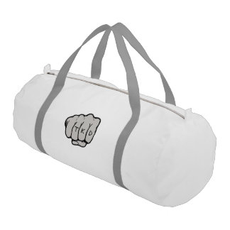 Martial Arts TKD Fist Punch Duffle Bag