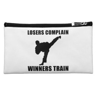 Martial Arts Winners Train Cosmetic Bag