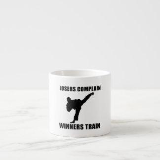 Martial Arts Winners Train Espresso Cup