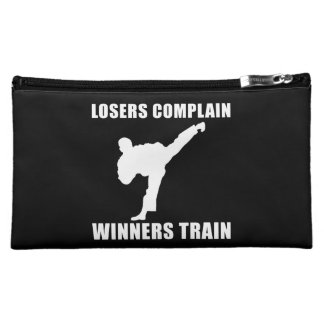 Martial Arts Winners Train Makeup Bag