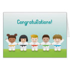 Martial Arts World Kids Congratulations Card