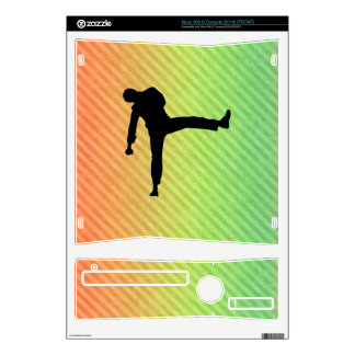 Martial Arts Xbox 360 S Console Decal