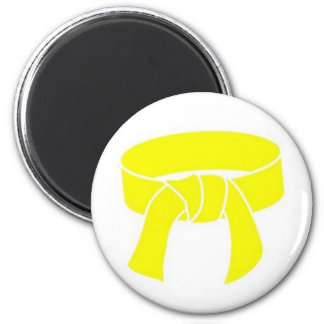 Martial Arts Yellow Belt Magnet