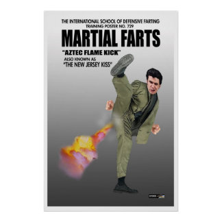 Martial Farts poster 1