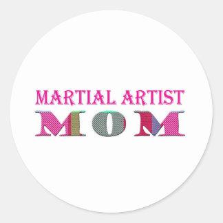 MartialArtistMom Classic Round Sticker