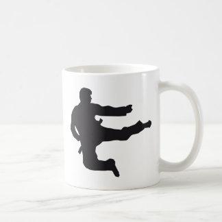 martially kind classic white coffee mug