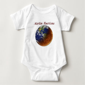 Martian Americans Baby Bodysuit