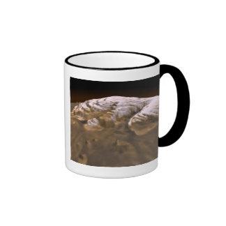 Martian Arctic Ringer Coffee Mug