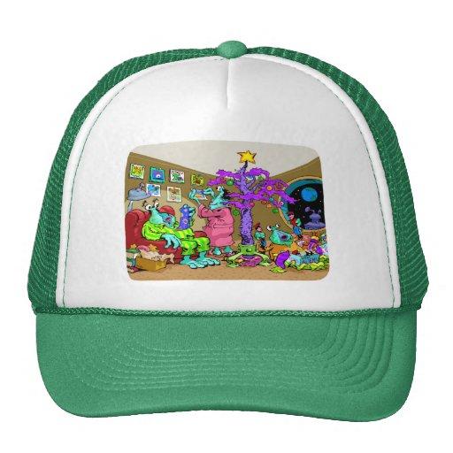 Martian Christmas Trucker Hat