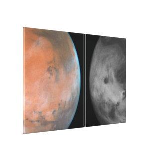 Martian Cloud Cover Canvas Print