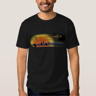 Martian Colonial Society .com T-Shirt