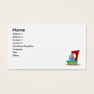Martian Comedian Business Card
