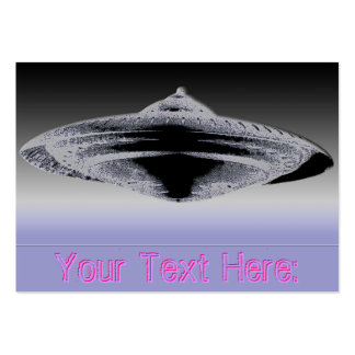 Martian Construction Contract-4890 Flying Saucer Large Business Cards (Pack Of 100)
