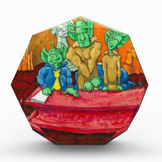Martian Defense Table Acrylic Award