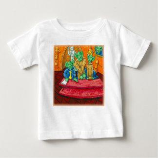 Martian Defense Table Baby T-Shirt
