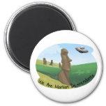 Martian Descendants 2 Inch Round Magnet