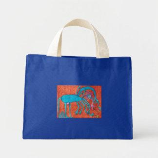 Martian Dog Canvas Bags
