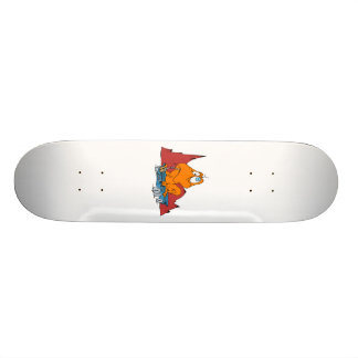 Martian Eating Mars Rover Skateboard