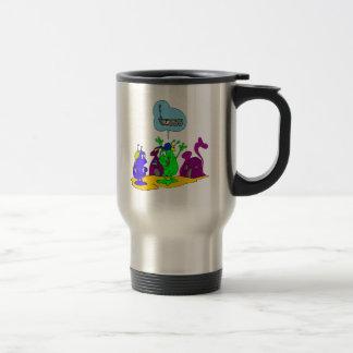 Martian excitaron sobre nuevo vagabundo tazas de café