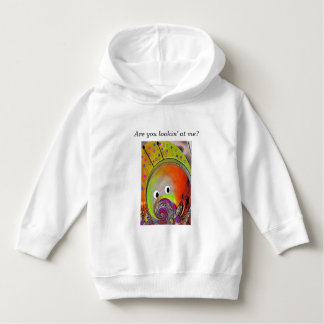 """""""Martian Fish"""" Toddler Pullover Hoodie"""