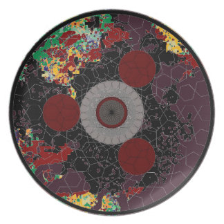 Martian Flying Saucer 334 (19.5 In) Extravaganza Plate