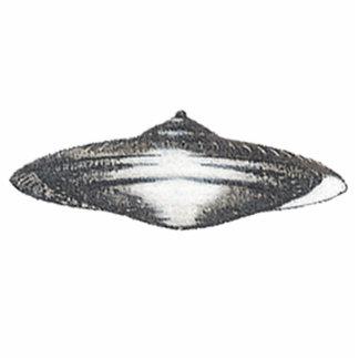 Martian Flying Saucer MCC-4890 Lightspeedster HRL Cutout