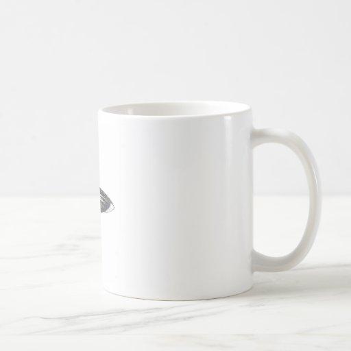 Martian Flying Saucer MCC-4890 Coffee Mugs