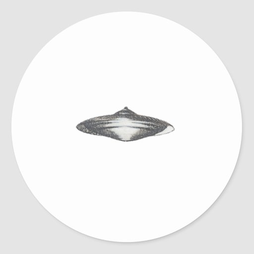 Martian Flying Saucer MCC-4890 Stickers