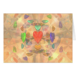 Martian Hearts Card