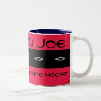 Martian Joe Exclusive Cocoa Moe Mocha Two-Tone Coffee Mug